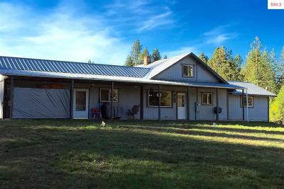 Sandpoint Single Family Home For Sale: 6762 Colburn Culver Rd