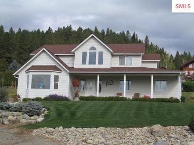 Bonners Ferry Single Family Home For Sale: 7450 Sundance
