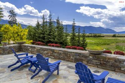 Clark Fork ID Single Family Home For Sale: $1,850,000