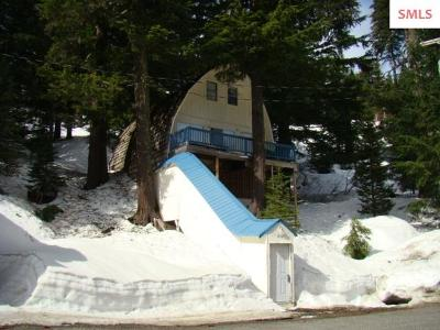 Mountainside, Schweitzer Single Family Home For Sale: 8102 Schweitzer Mountain Rd