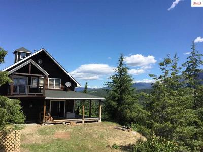 Bonners Ferry Single Family Home For Sale: 1118 Two Tail