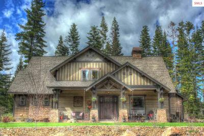 Coeur D'alene Single Family Home For Sale: 3667 W Cielo View Ct