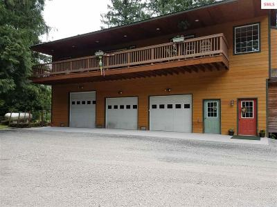 Sandpoint Single Family Home Contingent W/Bump Clause: 769 Lower Zephyr Hills Drive