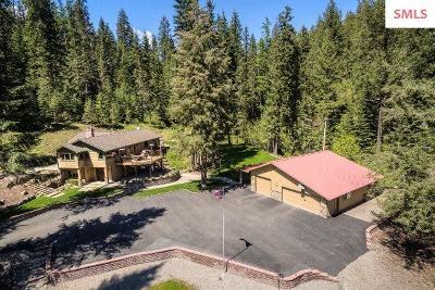 Coeur D'alene Single Family Home For Sale: 6576 E Fernan Lake Rd