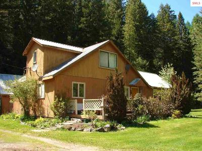 Bonners Ferry Single Family Home For Sale: 53239 Hwy. 95