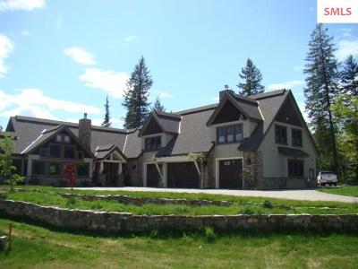Sandpoint Single Family Home For Sale: 110 Wright Court