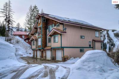 Mountainside, Schweitzer Condo/Townhouse For Sale: 205 Parallel Run, Unit A