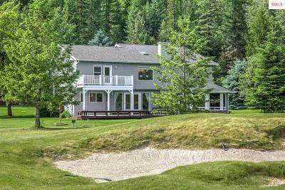 Sandpoint Single Family Home For Sale: 769 Lower Pack River Rd