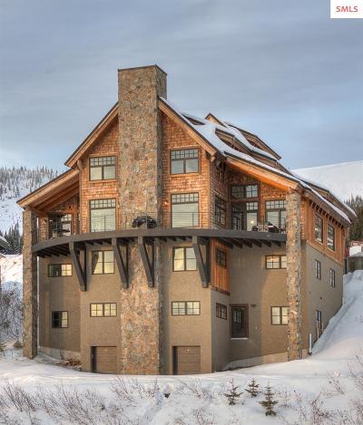 Mountainside, Schweitzer Condo/Townhouse For Sale: 99 Village Lane