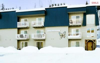 Mountainside, Schweitzer Condo/Townhouse For Sale: 495 Northwest Passage #10