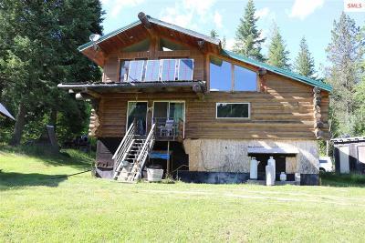 Priest Lake, Priest River Single Family Home For Sale: 677 Sno Tika