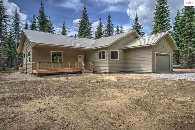 Boundary County Single Family Home For Sale: 2615 McArthur Lake Rd