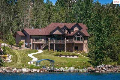 Sandpoint Single Family Home For Sale: 67 Ponder Point Lane