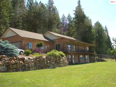 Bonners Ferry Single Family Home For Sale: 12 Tanager Lane