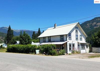 Clark Fork Single Family Home For Sale: 104 Stephens St