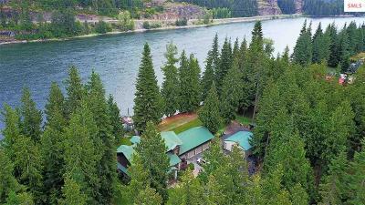 Clark Fork Single Family Home For Sale: 465 & 469 River Lake Dr