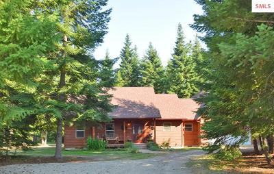 Bonners Ferry Single Family Home For Sale: 165 Quail Dr