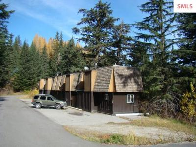 Mountainside, Schweitzer Condo/Townhouse For Sale: 169 Snowplow Unit 3