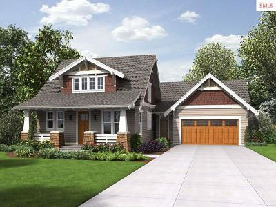 Sandpoint Single Family Home For Sale: Tbb Lot 7 Nicholas Way