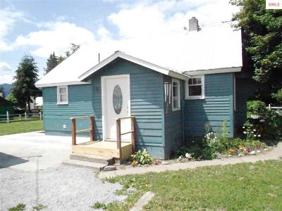 Clark Fork ID Single Family Home For Sale: $129,500