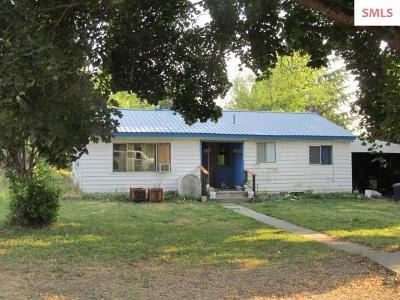 Bonners Ferry Single Family Home For Sale: 6634 Buchanan