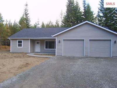 Bonners Ferry Single Family Home For Sale: 14 Countryside Ln.