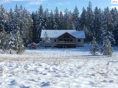 Bonners Ferry Single Family Home For Sale: 2116 Blue Sky Road