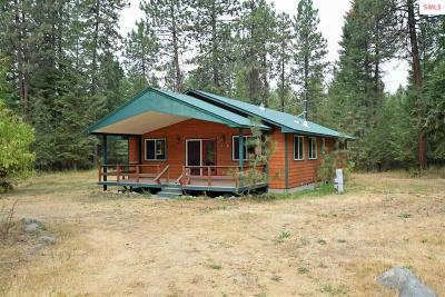 Bonners Ferry Single Family Home For Sale: 266 Donicker Rd