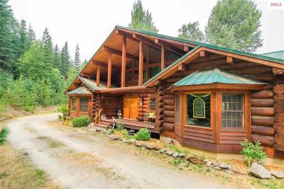 Priest Lake, Priest River Single Family Home For Sale: 6888 Id-57