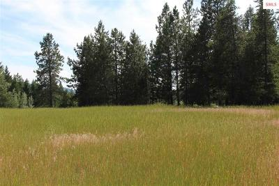 Bonners Ferry Residential Lots & Land For Sale: Tract 3a Red Cloud Road