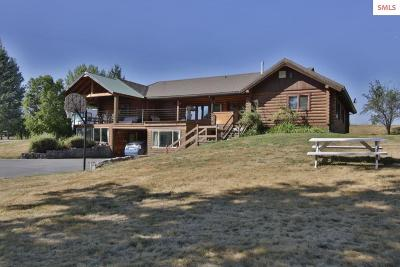 Sandpoint Single Family Home For Sale: 2306 Sand Creek Ln