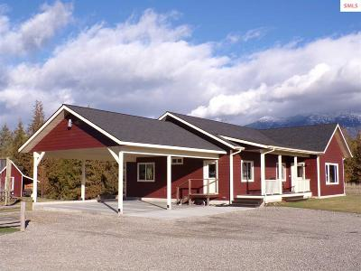 Bonners Ferry Single Family Home For Sale: 189 Painted Horse Rd.