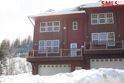 Mountainside, Schweitzer Condo/Townhouse For Sale: 38 Slalom Road Unit 1