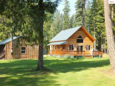 Bonners Ferry Single Family Home For Sale: 494 Timberlane