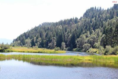 Sandpoint Residential Lots & Land For Sale: Nka Parcel 1 Pack River Flats