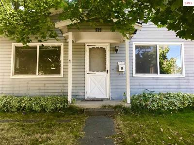 Sandpoint Single Family Home For Sale: 529 N Boyer Ave