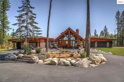 Sandpoint Single Family Home For Sale: 557 Hidden Spring Rd