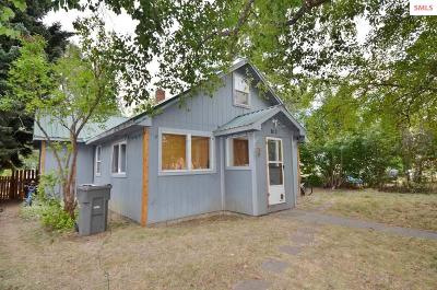 Sandpoint Single Family Home For Sale: 812 N Ella Avenue