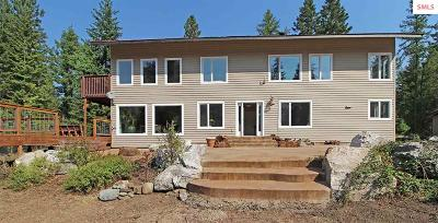 Sagle Single Family Home For Sale: 567 Elliot Bay Road
