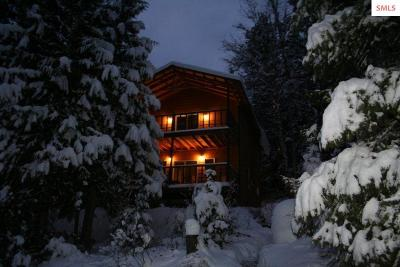 Sandpoint Single Family Home For Sale: 2336 Trout Creek Road