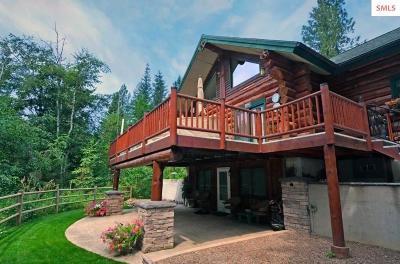 Clark Fork Single Family Home For Sale: 269 Bear Claw