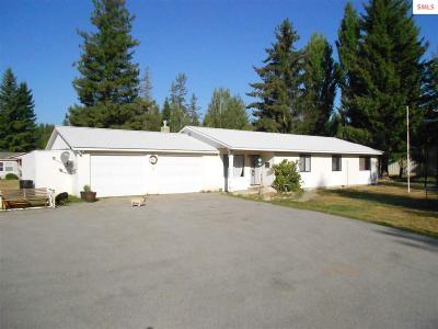 Sandpoint Single Family Home For Sale: 1128 Shingle Mill Road