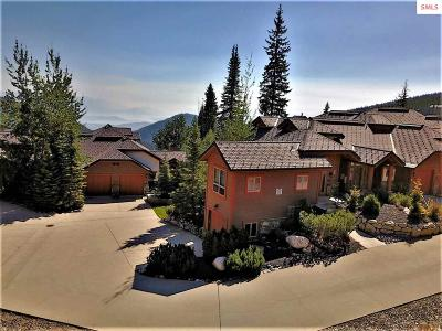 Mountainside, Schweitzer Condo/Townhouse For Sale: 39 The Glades