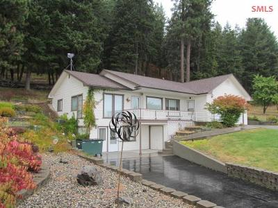 Bonners Ferry Single Family Home For Sale: 7584 Wildhorse Lane