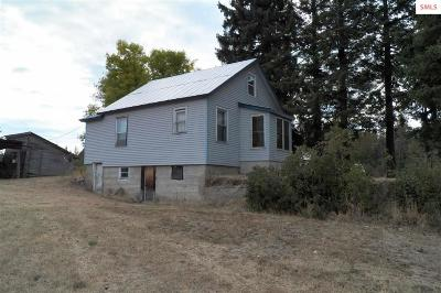 Athol ID Single Family Home For Sale: $149,000