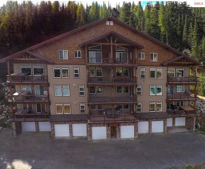 Mountainside, Schweitzer Condo/Townhouse For Sale: 128 Mogul Hill, Unit G
