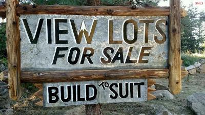 Bonners Ferry Residential Lots & Land For Sale: Lot 2d Riverside Street