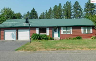 Bonners Ferry Single Family Home For Sale: 7054 Helena Street