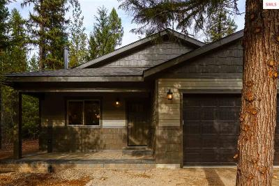 Priest Lake Single Family Home For Sale: 209 Tracy Lane