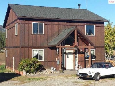 Priest Lake, Priest River Single Family Home For Sale: 12735 E Dufort